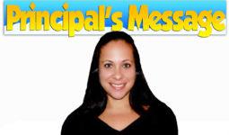 Principals' Message