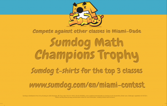 Sumdog Math Champions Trophy